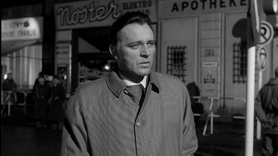 Richard Burton in 'The Spy Who Came In From The Cold'