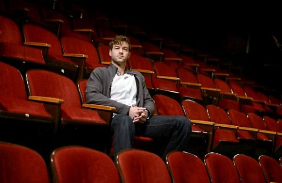 Gremlin Theatre Artistic director/founder Peter Hansen sits in the St. Paul theater, Wednesday, March 13, 2013. (Pioneer Press: Chris Polydoroff)