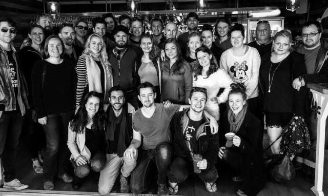 The cast & crew of 'Project Eden' Source: Project Eden's FB