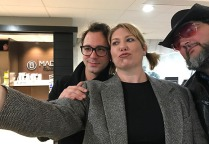 Heidi, Johnathan & Jon took a fun selfie