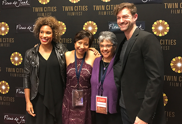 Associate shorts programmer Angela Andrist joined us on the red carpet