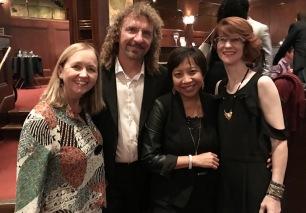Fun meeting Linda & Steven Elbert & Kelly Lamplear-Dash