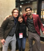 Ran into two talented MN actors Alec Leonard + Nick Raja