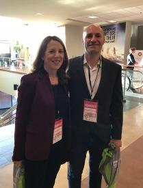 Norah Saphiro & Chris Newberry of Time For Ilhan
