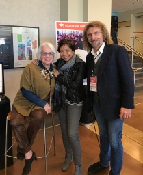 With TCFF brand ambassador Chari Ackman & producer Steve Elbert