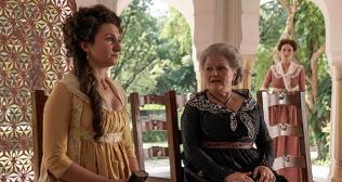 Bessie Carter (Violet) + Lesley Nichol (Henrietta Beecham)