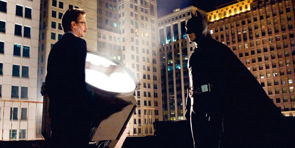 Batman Begins -Batman Commissioner Gordon
