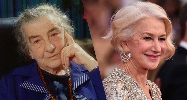 Golda Meir-Helen Mirren