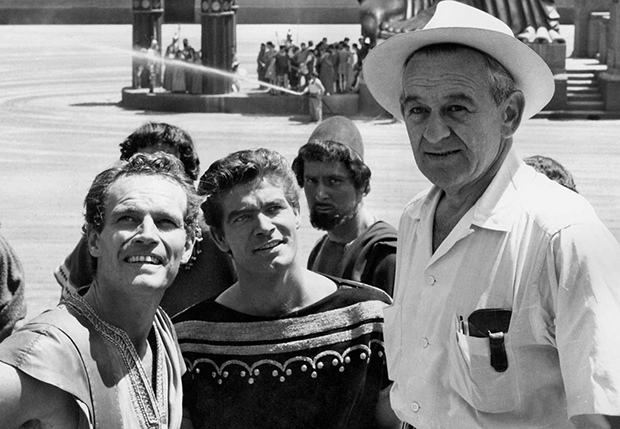 Wyler-on-set-benhur