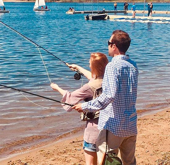 Groomsman-fishing