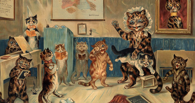electrical-life-louis-wain-anamorphic-cats